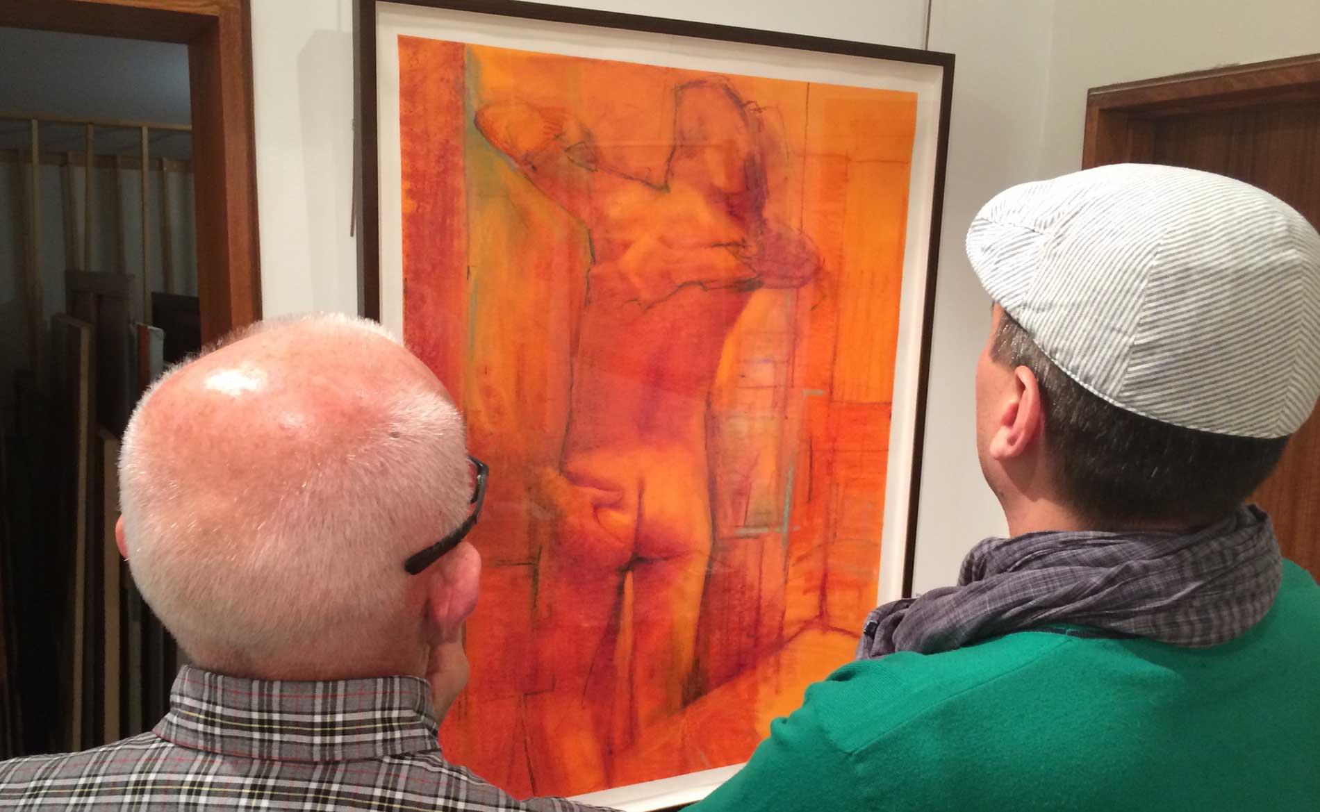gay art gallery tour