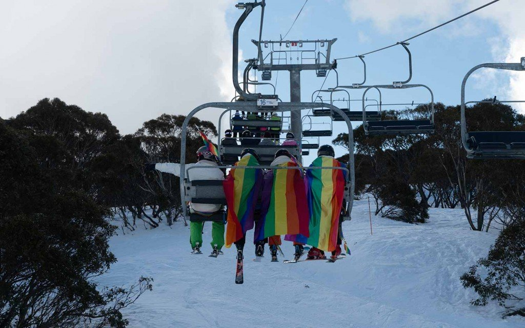 Gay Ski Week Australia Pride